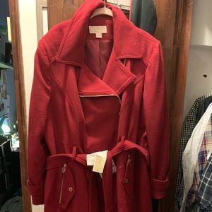 Michael Kors belted coat size 2x